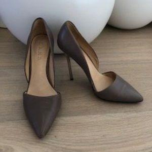 L.A.M.B. Heels (6.5 / Taupe)